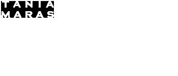 White Tania Maras Logo